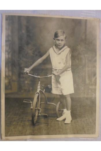 Παλιά ασπρόμαυρη φωτογραφία...