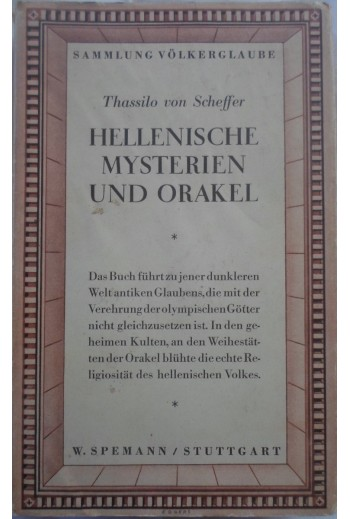 Thassilo von Scheffer,...