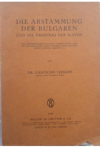Die Abstammung der Bulgaren...