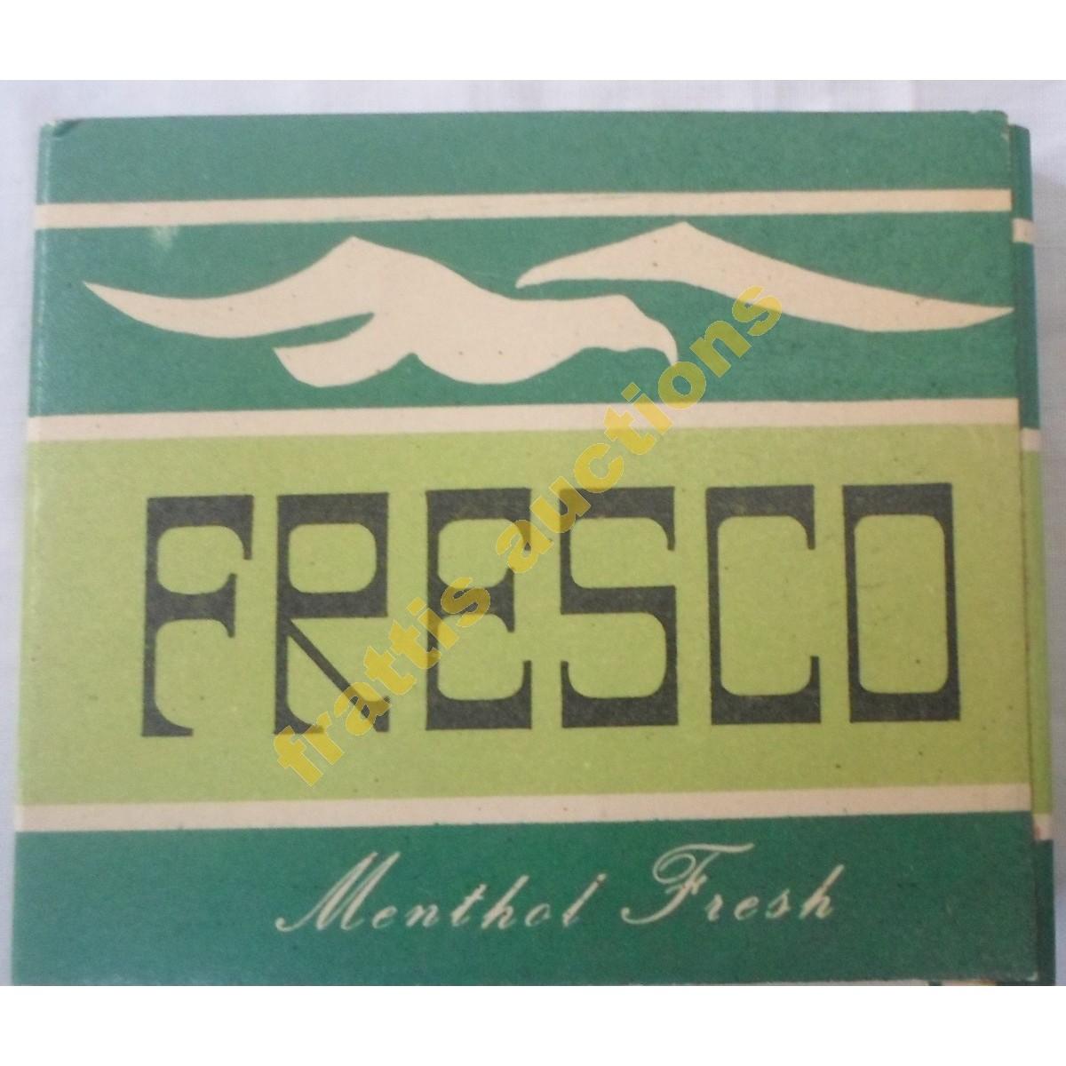 Σιγαρέττα FRESCO Cigarettes Menthol Fresh by V.E.C.A.. Χάρτινo πακέτο.