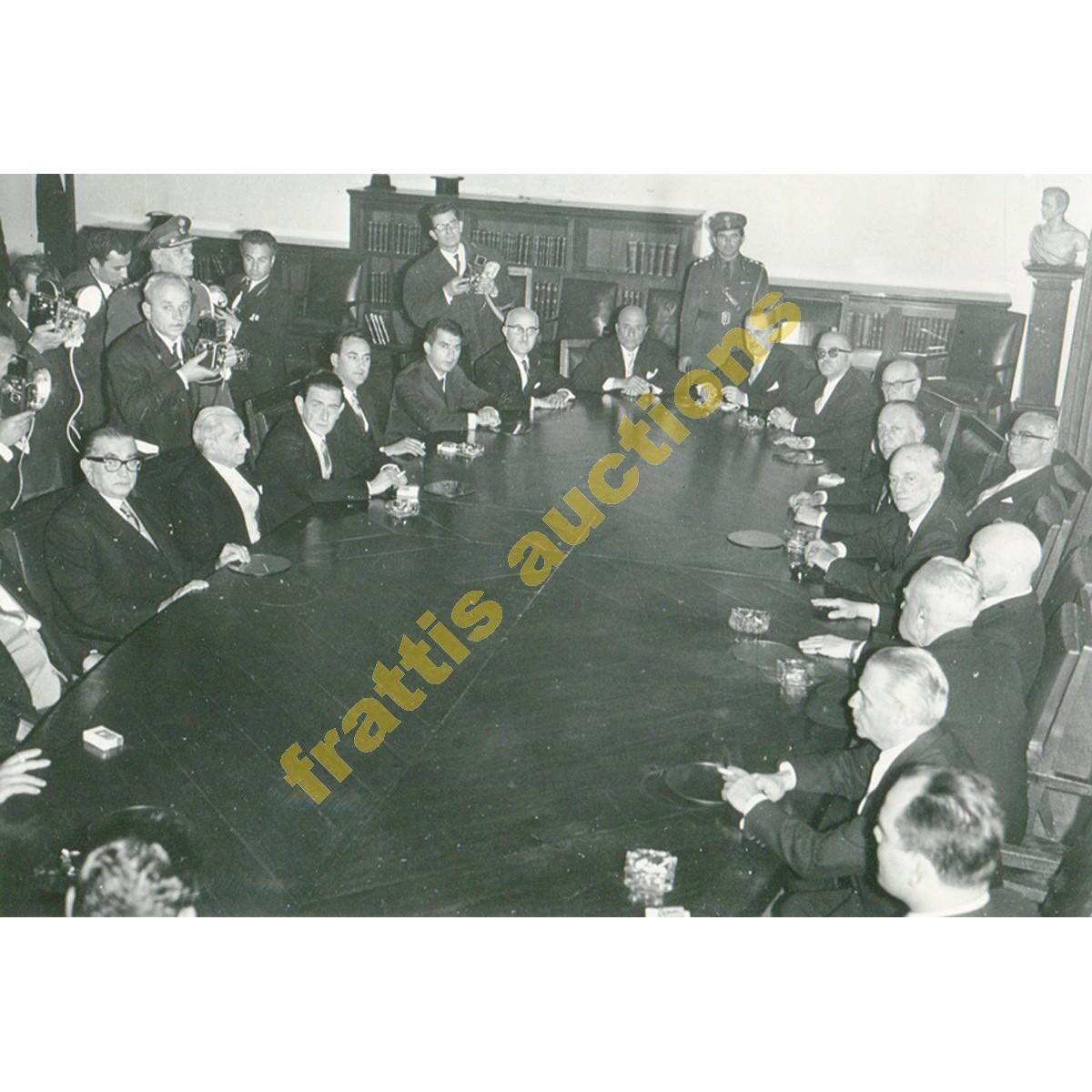 ΚΑΝΕΛΛΟΠΟΥΛΟΣ ΠΑΝ/ΤΗΣ, ΚΥΒΕΡΝΗΣΗ 1967