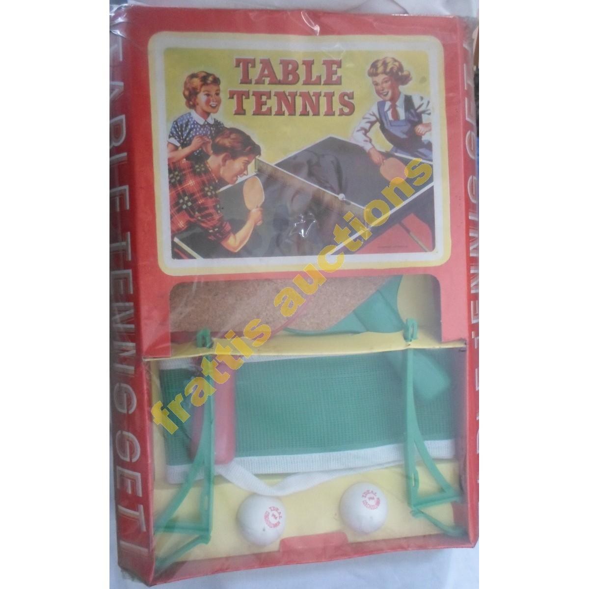 Vintage Table Tennis Set 1 σφραγισμένο