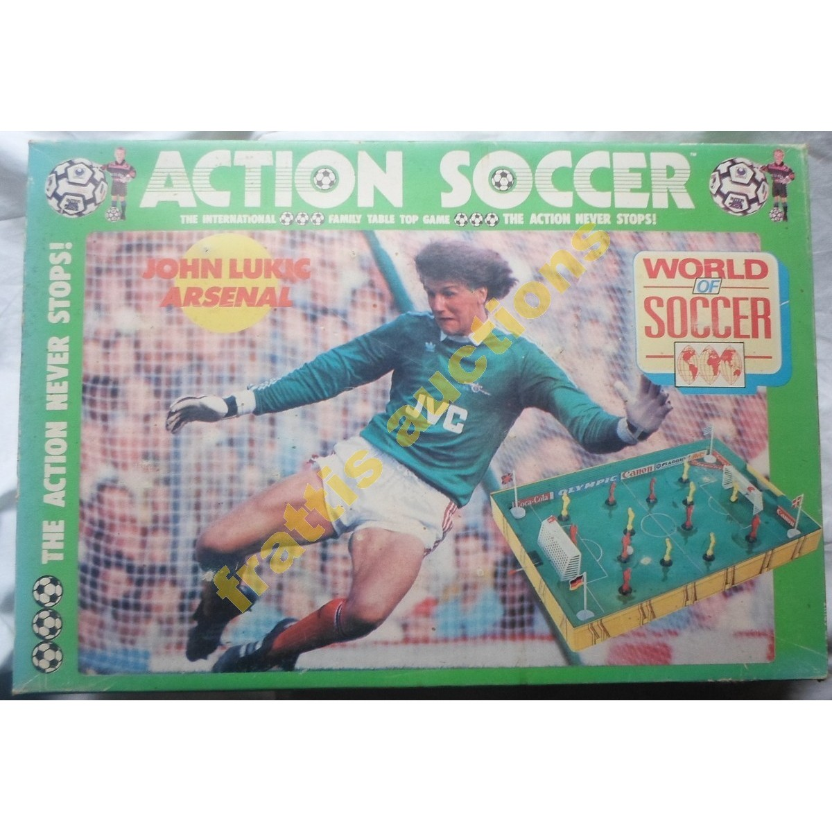 "Vintage ""Action Soccer"" από  Perma Toys,  Νο. 3040, made in Greece."