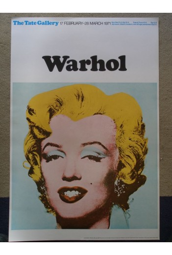 WARHOL Marilyn Monroe Tate...