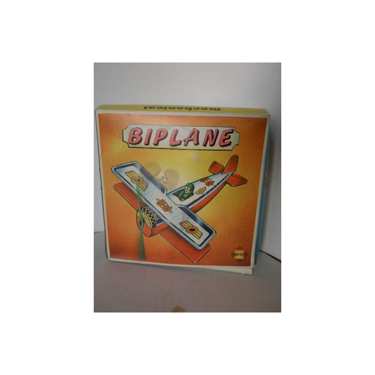Ελληνικό Μεταλλικό BIPLANE μηχανικό, Νο 099.