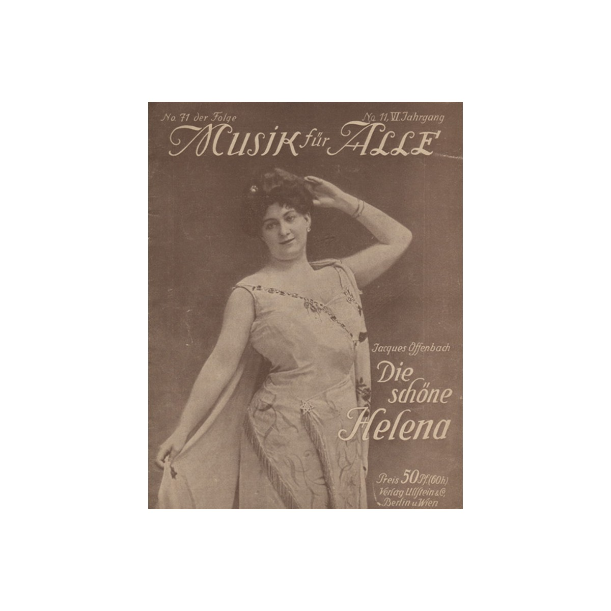 Mουσική για Oλους, Die schone Helena, Jacques Offenbach.1910
