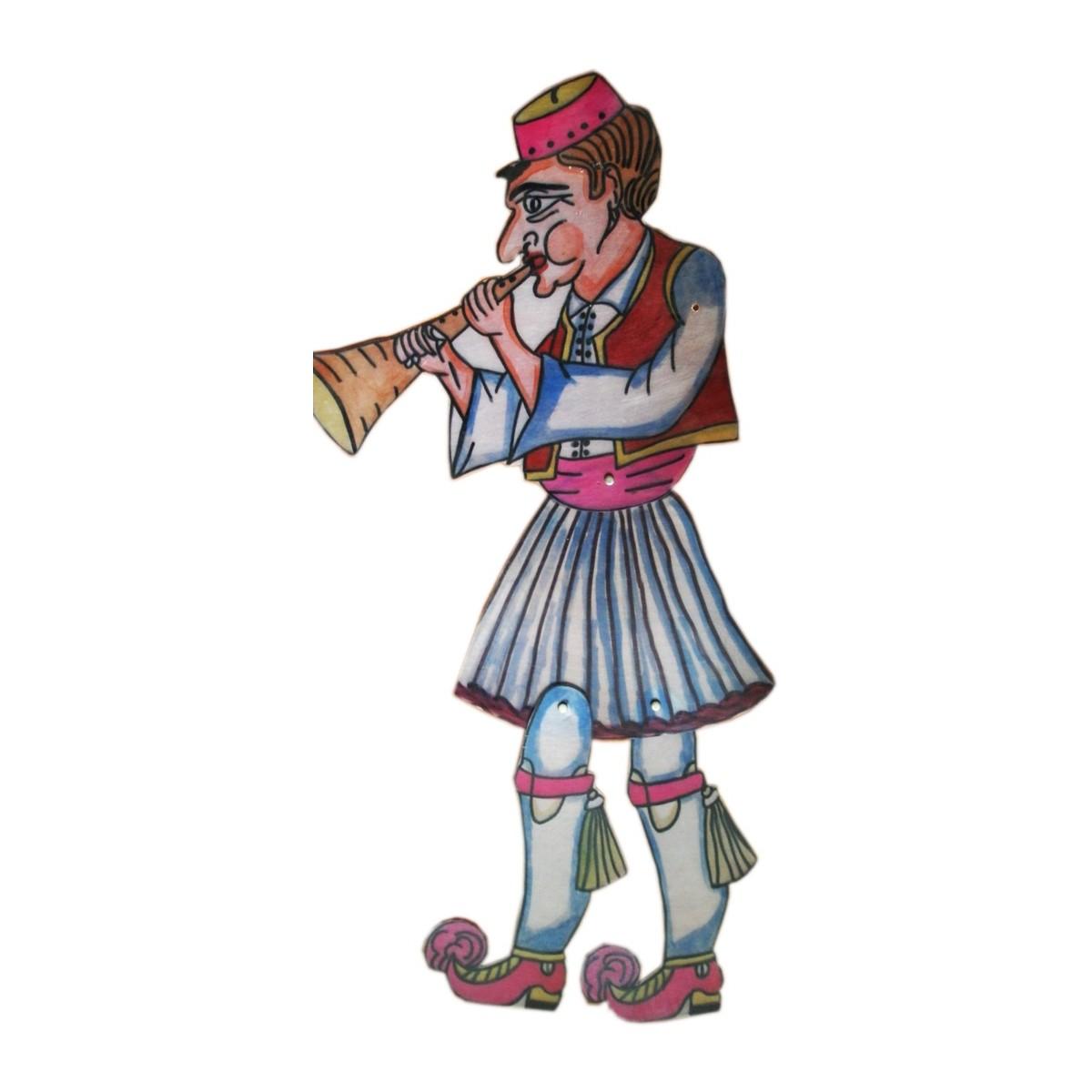 ΗΠΕΙΡΩΤΗΣ Μουσικός - Φιγούρα θεάτρου σκιών