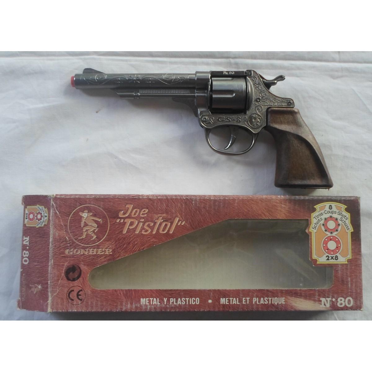 """Μεταλλικό και πλαστικό όπλο Joe """"Pistol"""" GONHER Νο 80."""