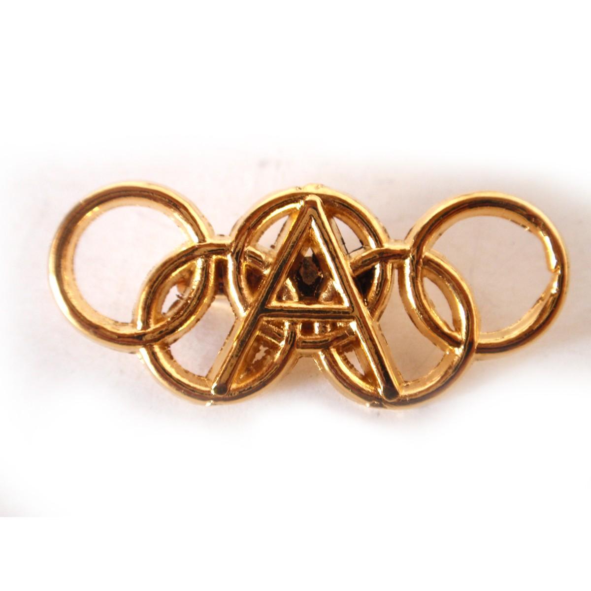 Καρφίτσα της Ολυμπιακής Ακαδημίας.