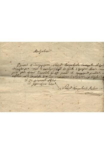 ΣΥΡΟΣ - ΕΡΜΟΥΠΟΛΗ 1830