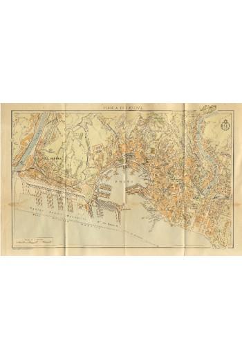 Χάρτης της Γένοβας, κλίμακα...