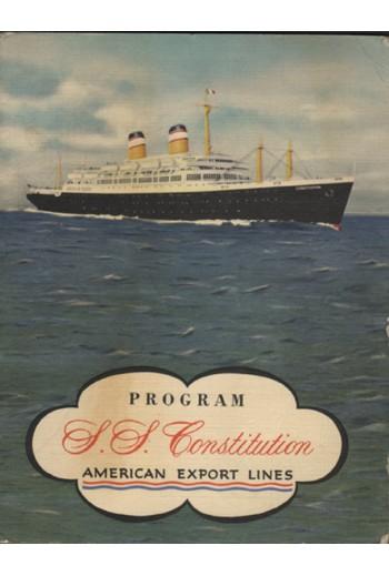 Πρόγραμμα στο πλοίο...