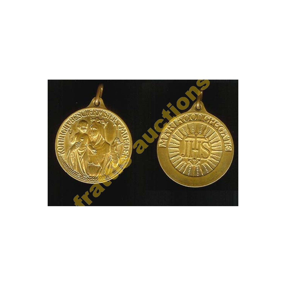 Αναμνηστικό μετάλιο  mariacongregate