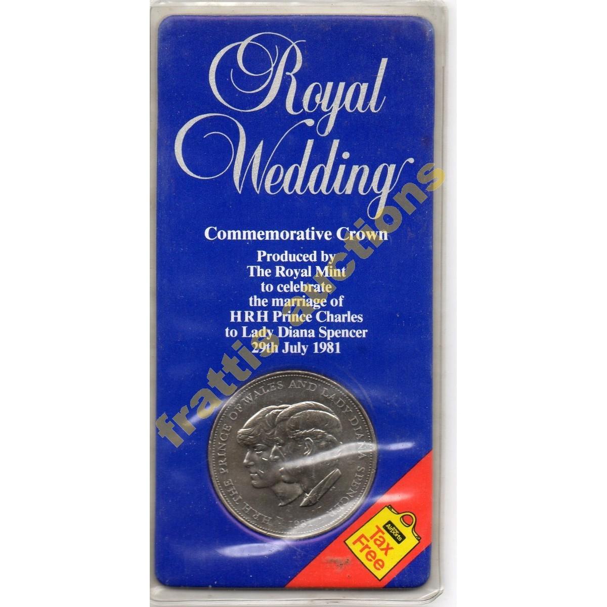 Βασιλικοί γάμοι Πρ. της Ουαλλίας & της Λαίδης Νταϊάνα Σπένσερ 1981.