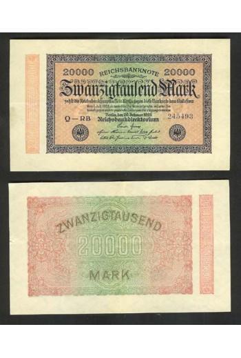 Γερμανικό χαρτονόμισμα...