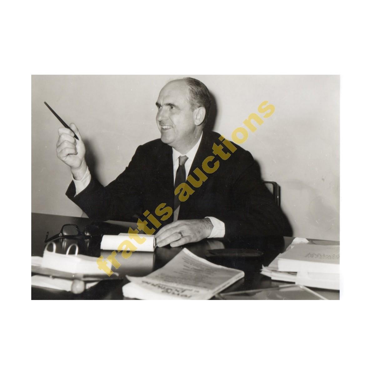 Ανδρέας Παπανδρέου, φωτογραφία του Γεωργίου Π. Κουφάκη.