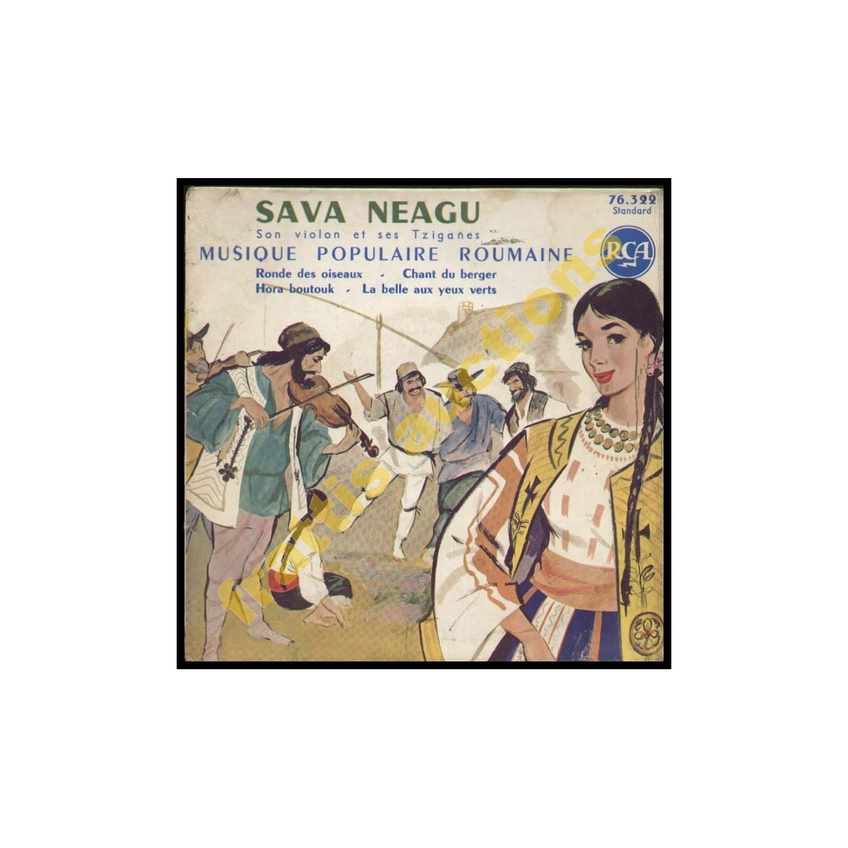 Sava Neagu son violon et ses Tziganes. RCA.  