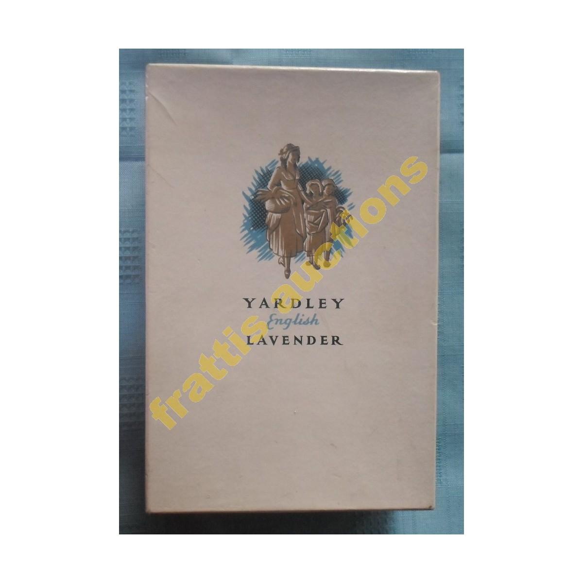 Χάρτινο κουτί Yardley English lavender.