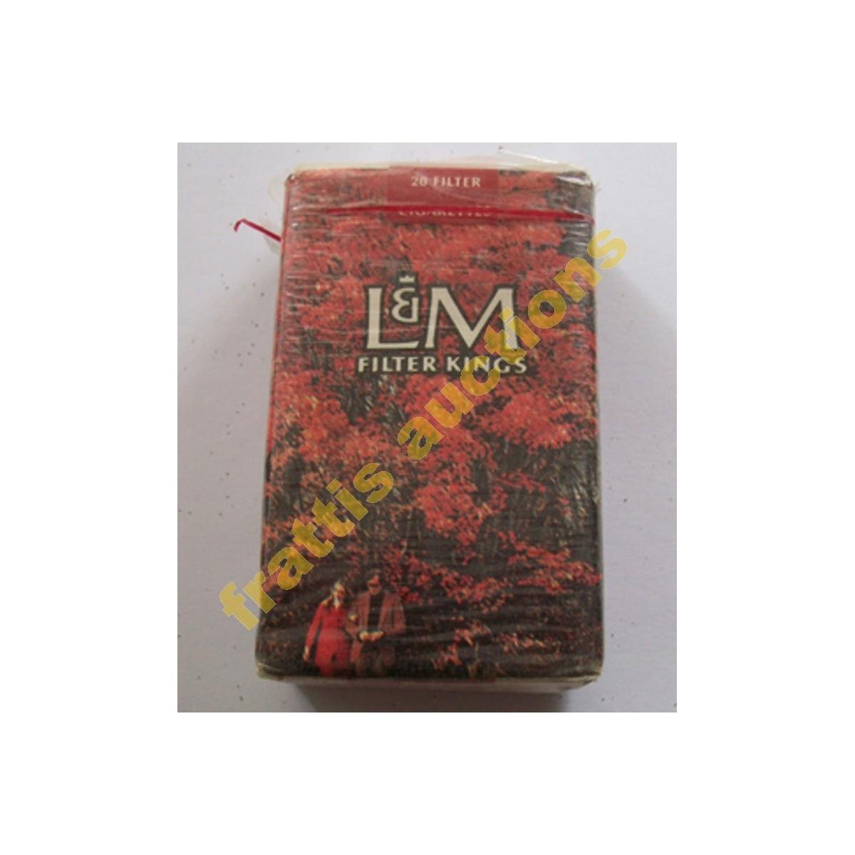 Χάρτινο πακέτο των 20 τσιγάρων L&M, Super Kings.