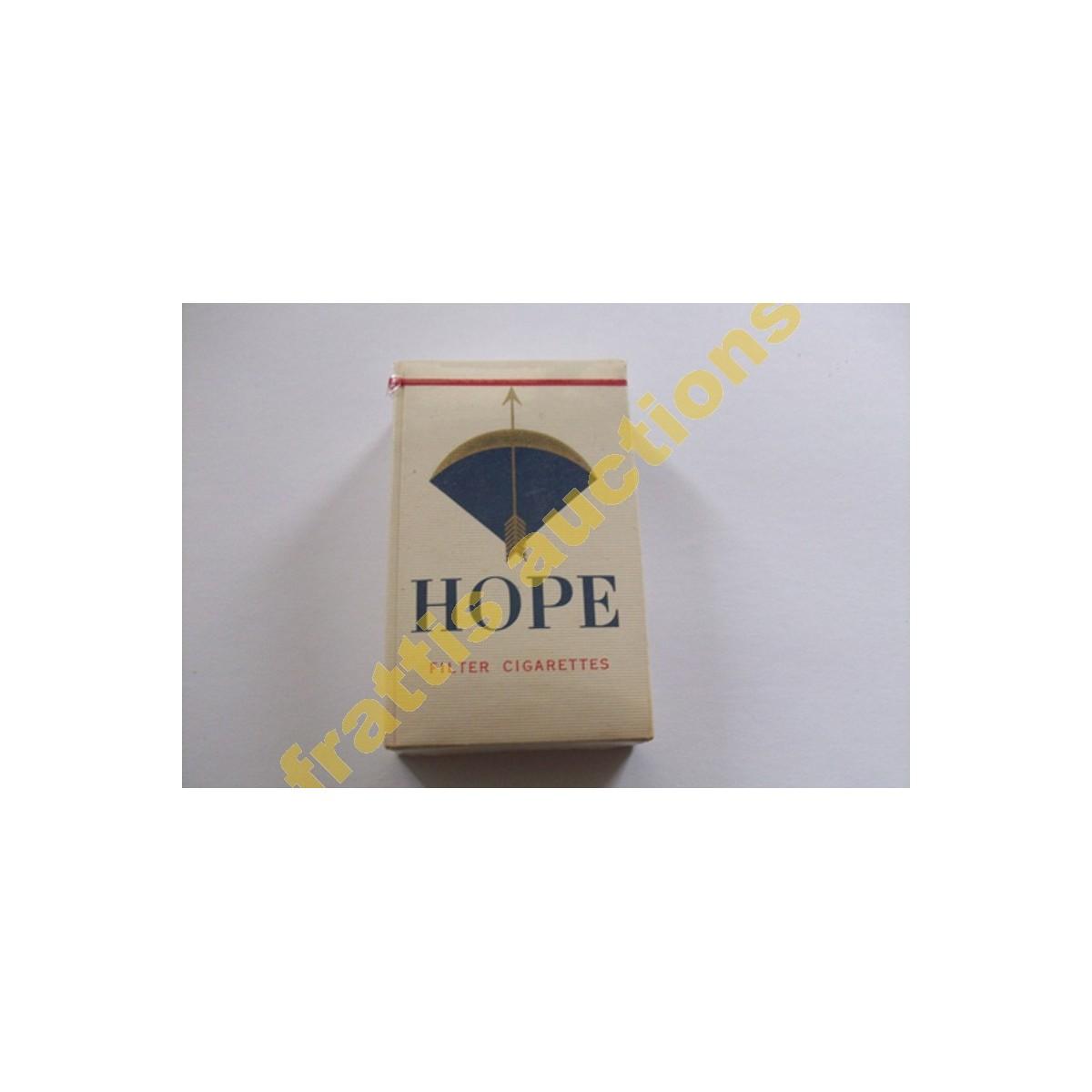 Χάρτινο πακέτο των 10 τσιγάρων hope filter, Ιαπωνία.