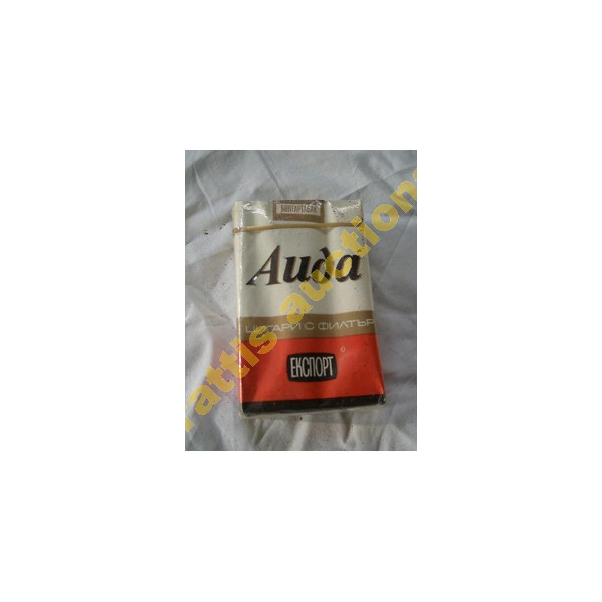 Χάρτινο πακέτο των 20 τσιγάρων AIDA Export, Βουλγαρία.