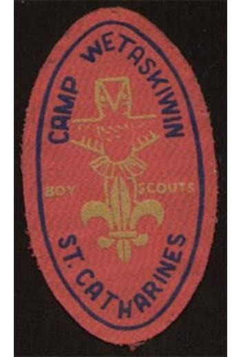 WETASKIWIN CAMP,Boy Scouts,...