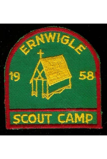 Ernwigle Scouts Camp, 1958,...