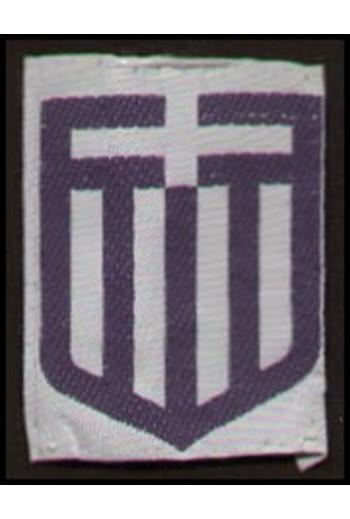 Ραφτό σήμα σημαία Ελληνική.