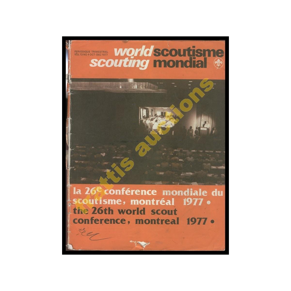 Περιοδικό Παγκόσμιου Προσκοπισμού, World Scoutism, Ελβετία.