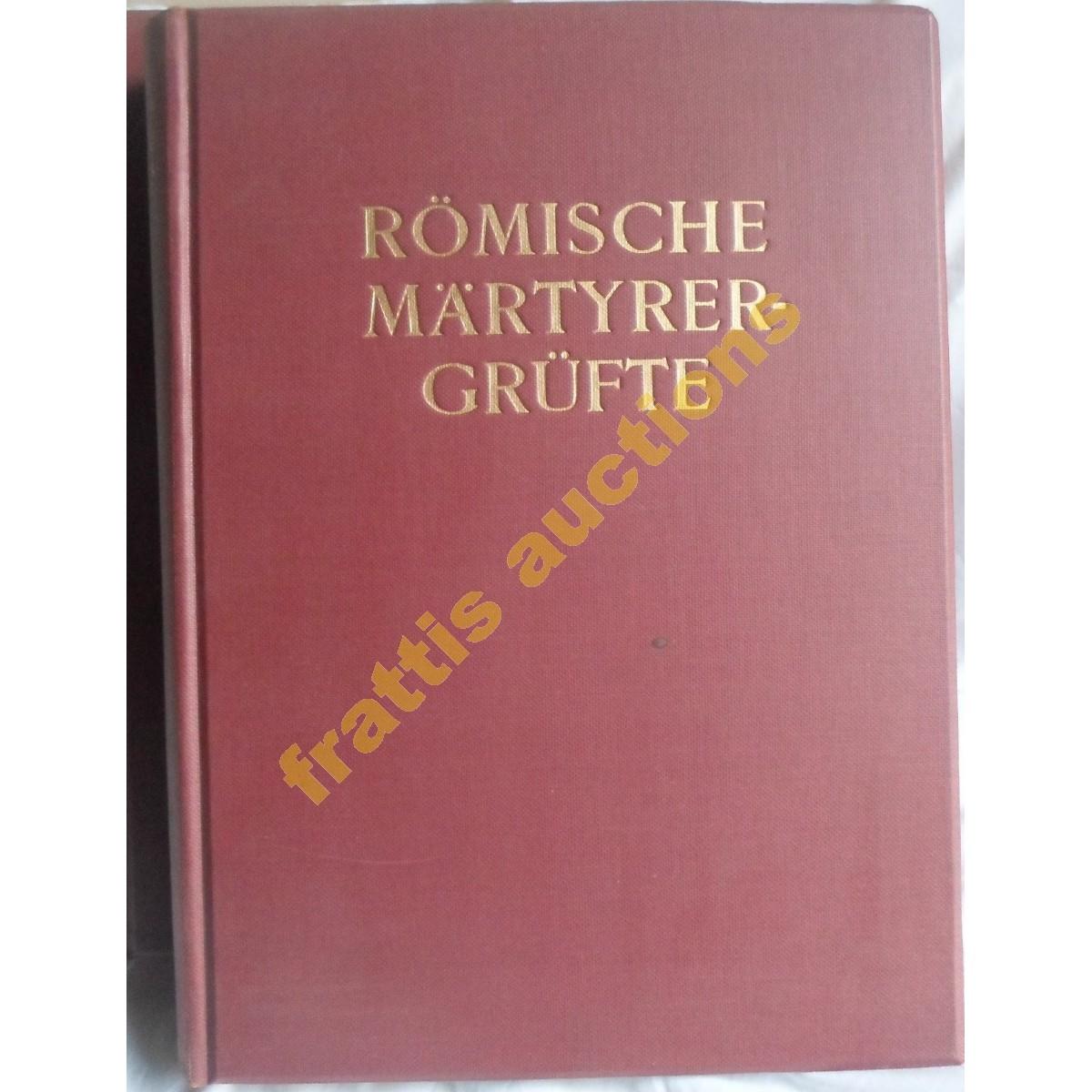 Paul Styger, 2 τόμοι ROMISCHE MARTYRERGRUFTE. 1935 Βερολίνο