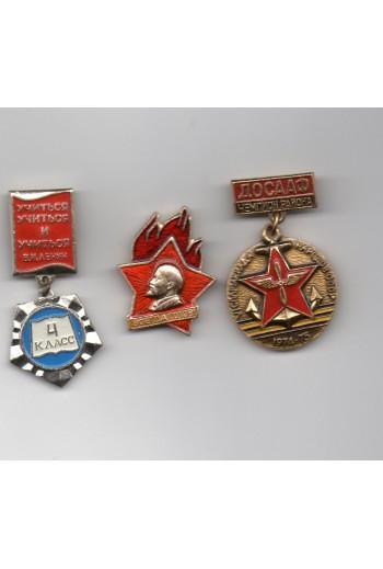 3 pins,Σοβιετικής Ένωσης.