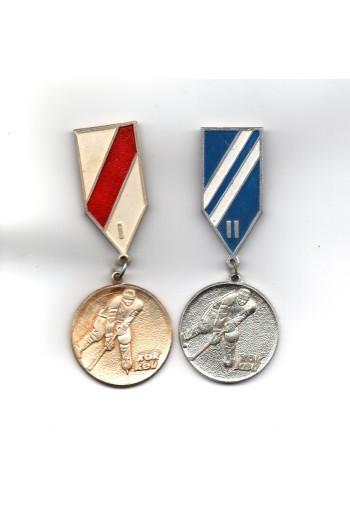 2 pins, Χόκεϋ Ι, ΙΙ.