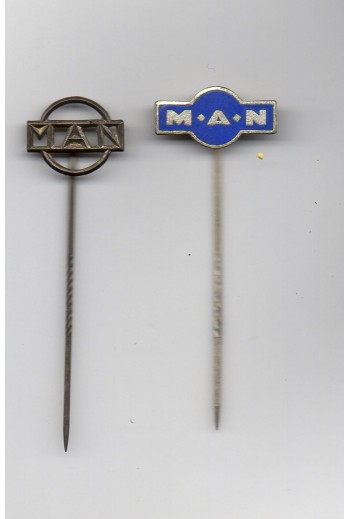 2 pins της Μ.Α.Ν.