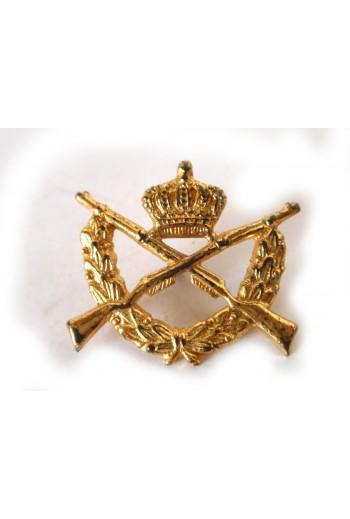 Στρατιωτικό pin με κορώνα.