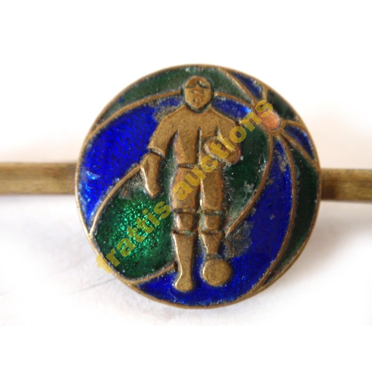 Pin ποδοσφαίρου για γραβάτα.