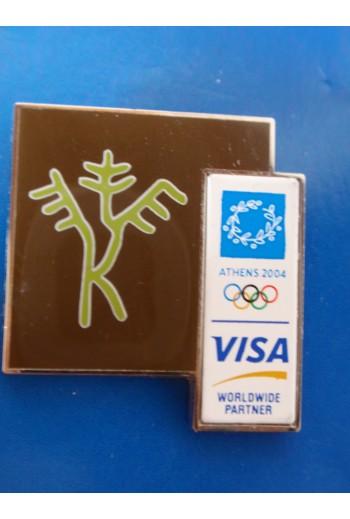 Pin Visa, ολυμπιάδα Αθήνα...