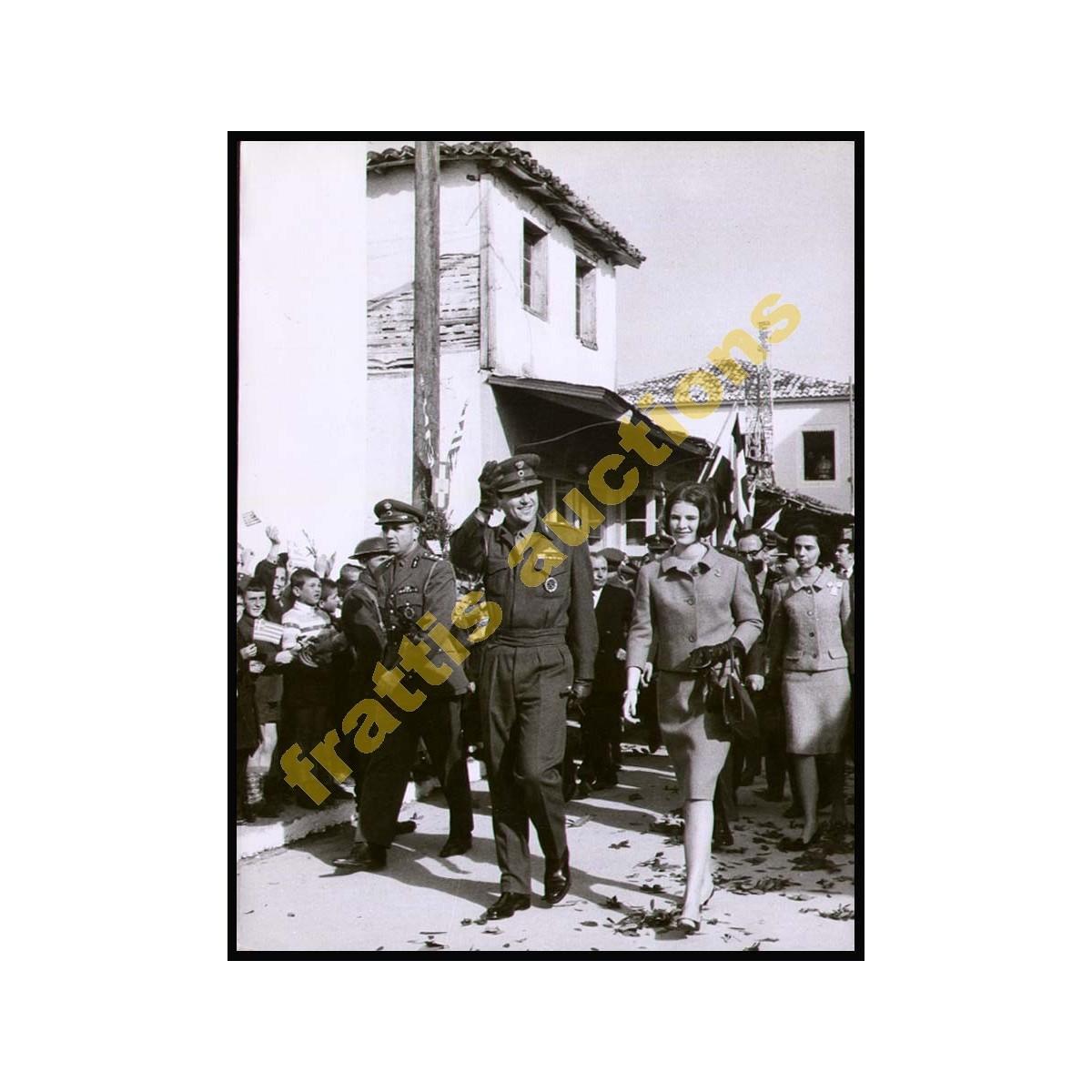 7 Φωτογραφίες της Βασιλικού ζεύγους της Ελλάδας σε εκδηλώσεις στην επαρχία.