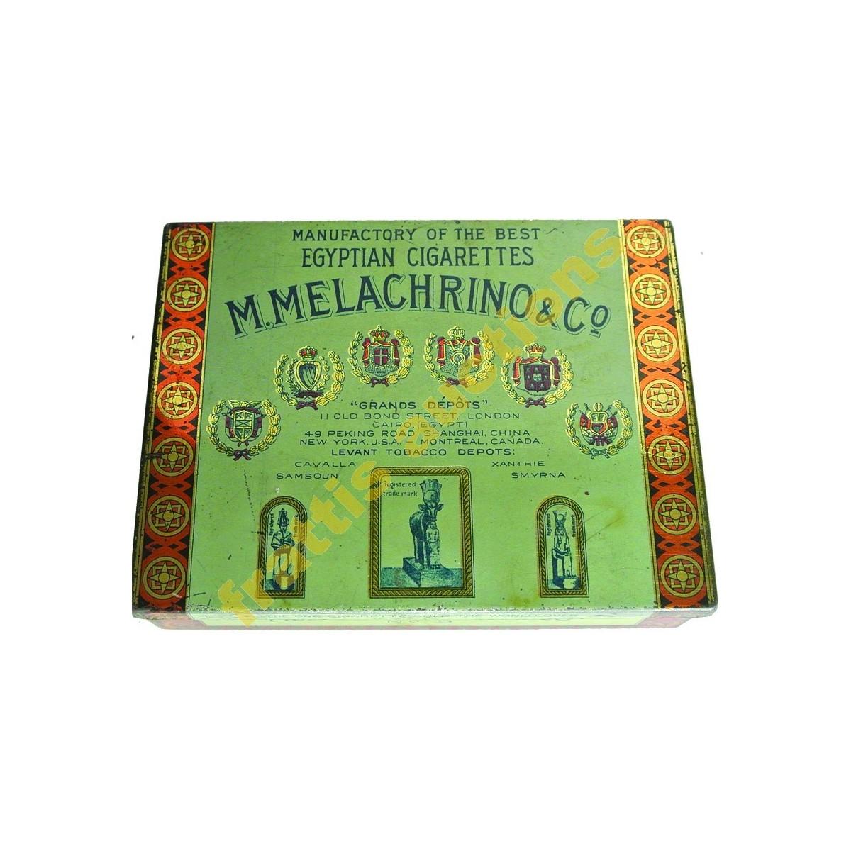 M.Melachrino & Co Egyptian Cigarettes