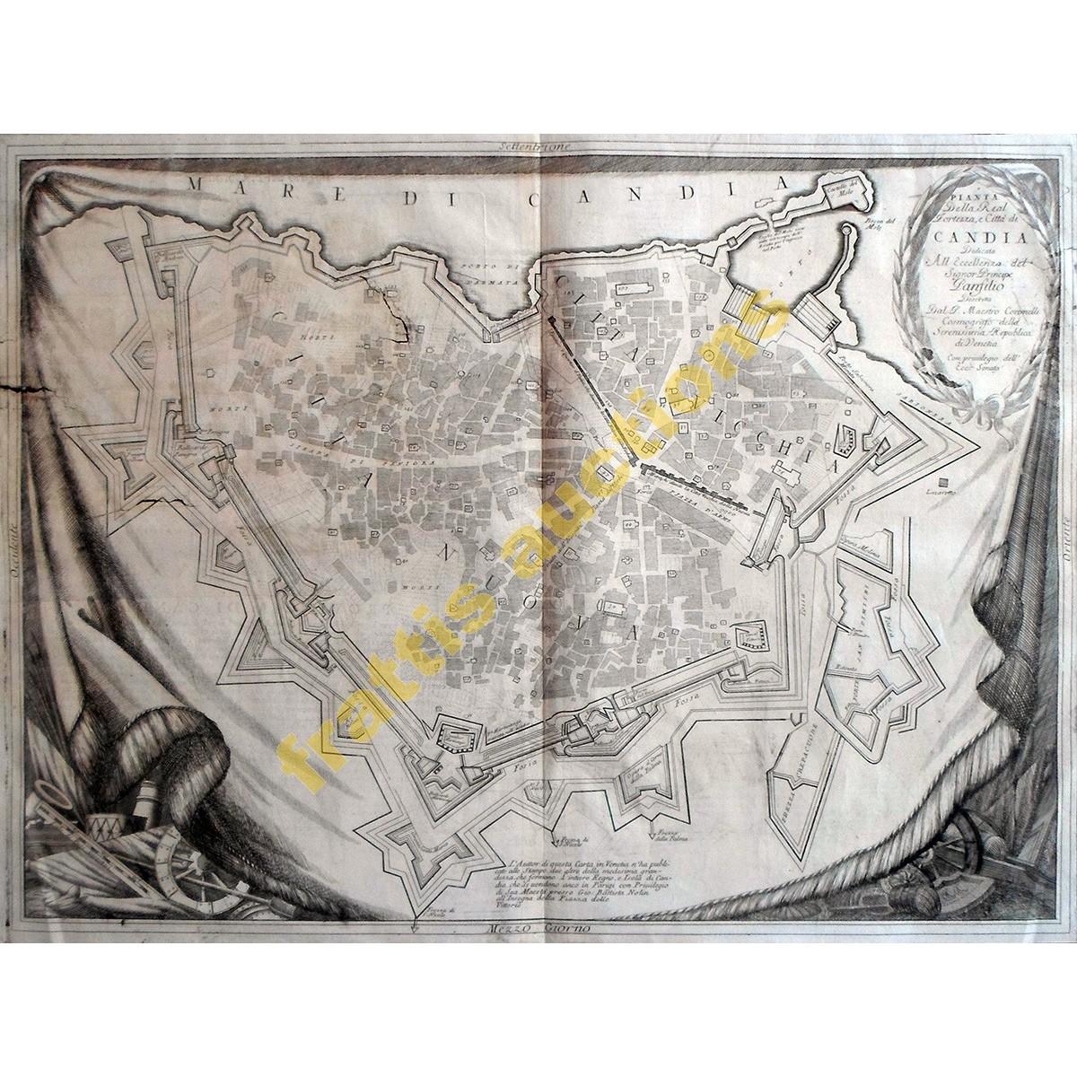 CORONELLI 1696 ,χάρτης