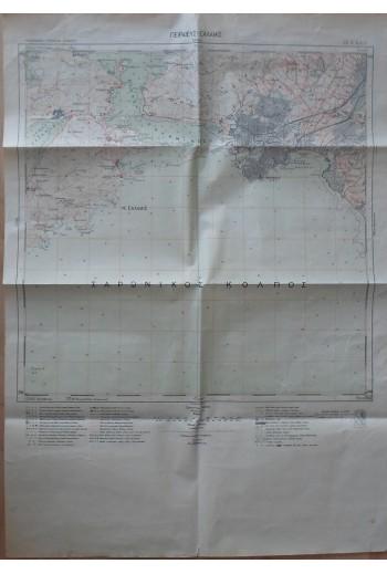 Πειραιεύς-Σαλαμίς, χάρτης