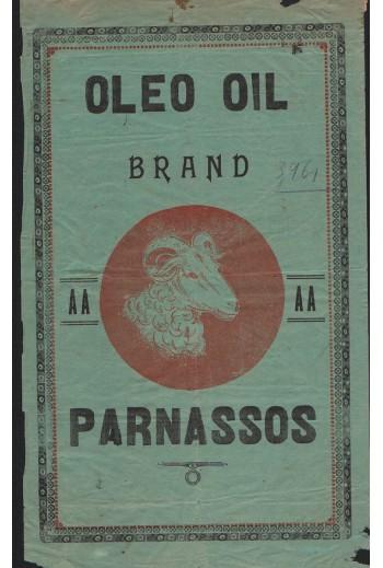 Parnassos Oil ,1931