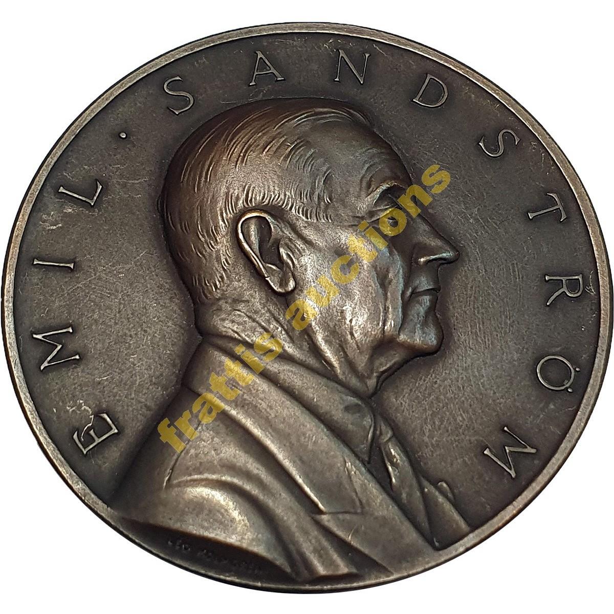 ΕΡΥΘΡΟΣ ΣΤΑΥΡΟΣ Emil Sandstrom, μετάλλιο