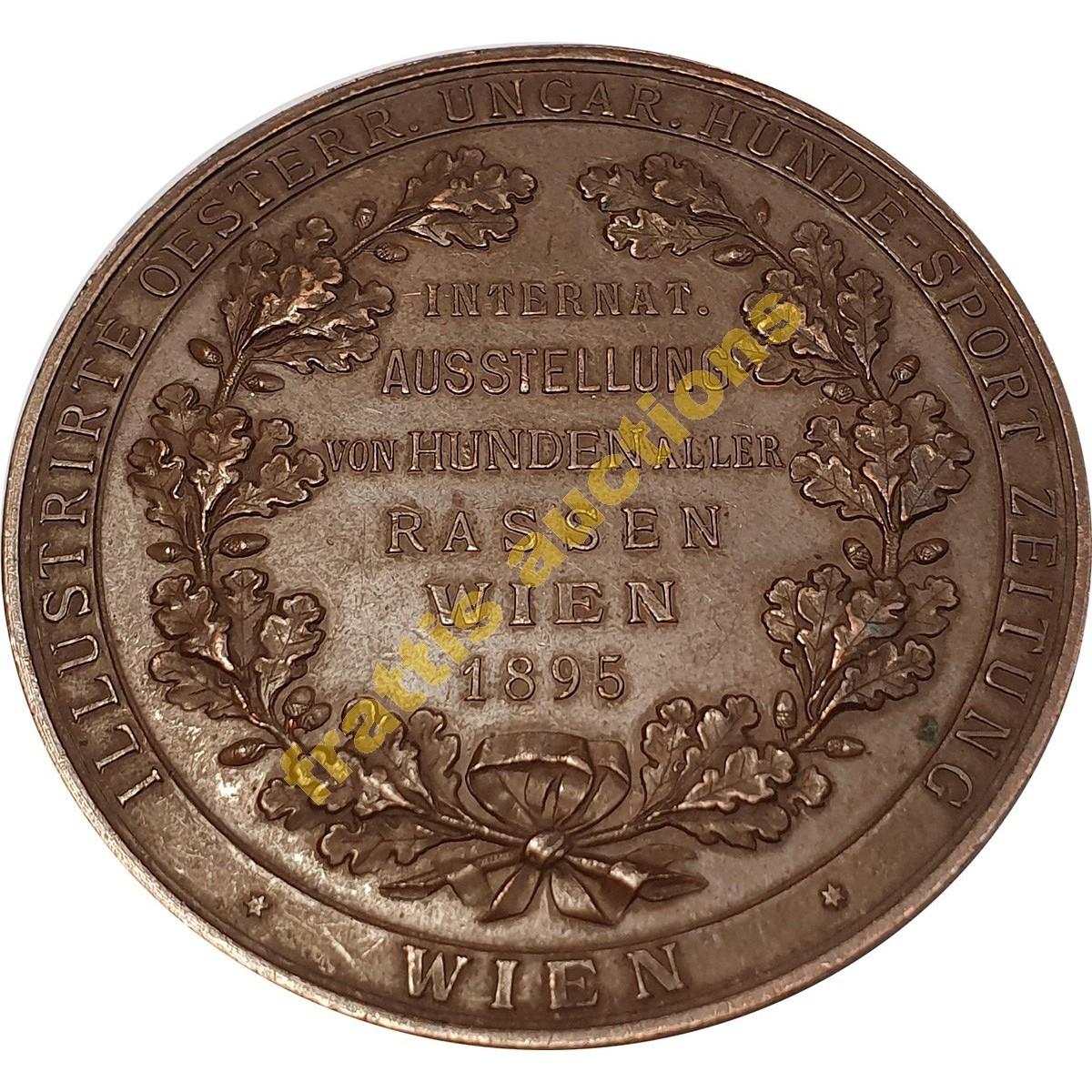 Dem Verdienste,WIEN 1895  μετάλλιο