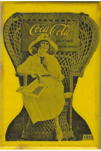 Coca Cola, καθρεφτάκι.