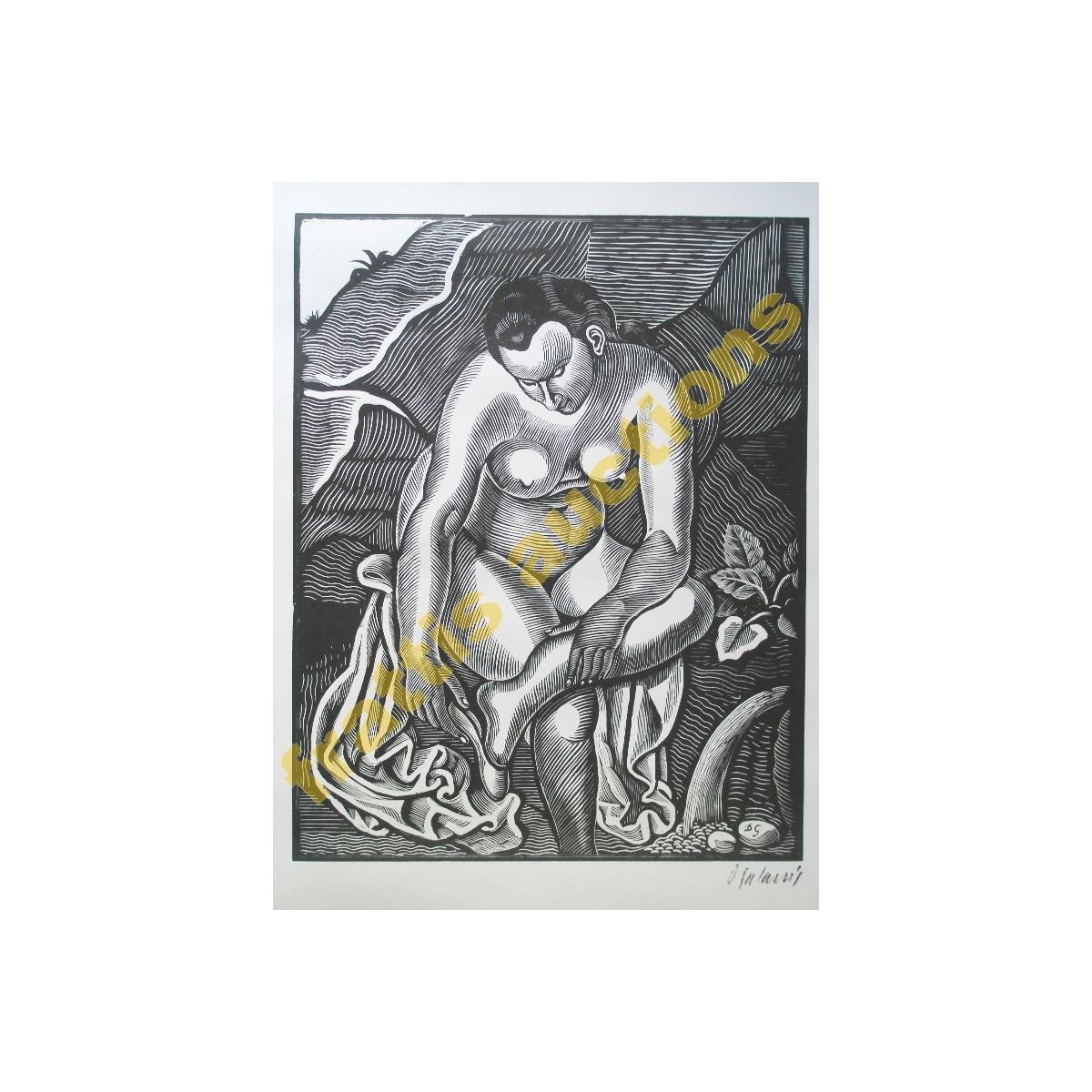Γαλάνης, Η γυναίκα με το σανδάλι.
