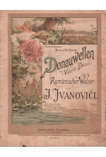Donauwellen, παρτιτούρα.