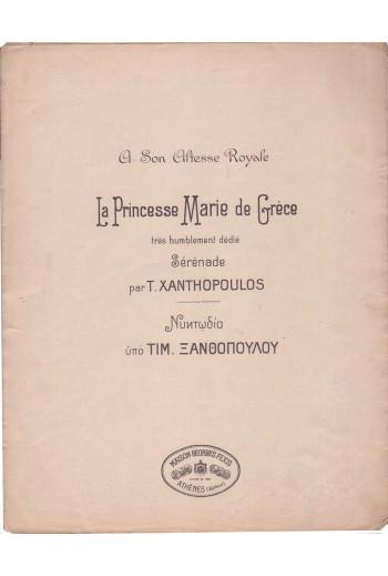 La princese Marie de Grece,...