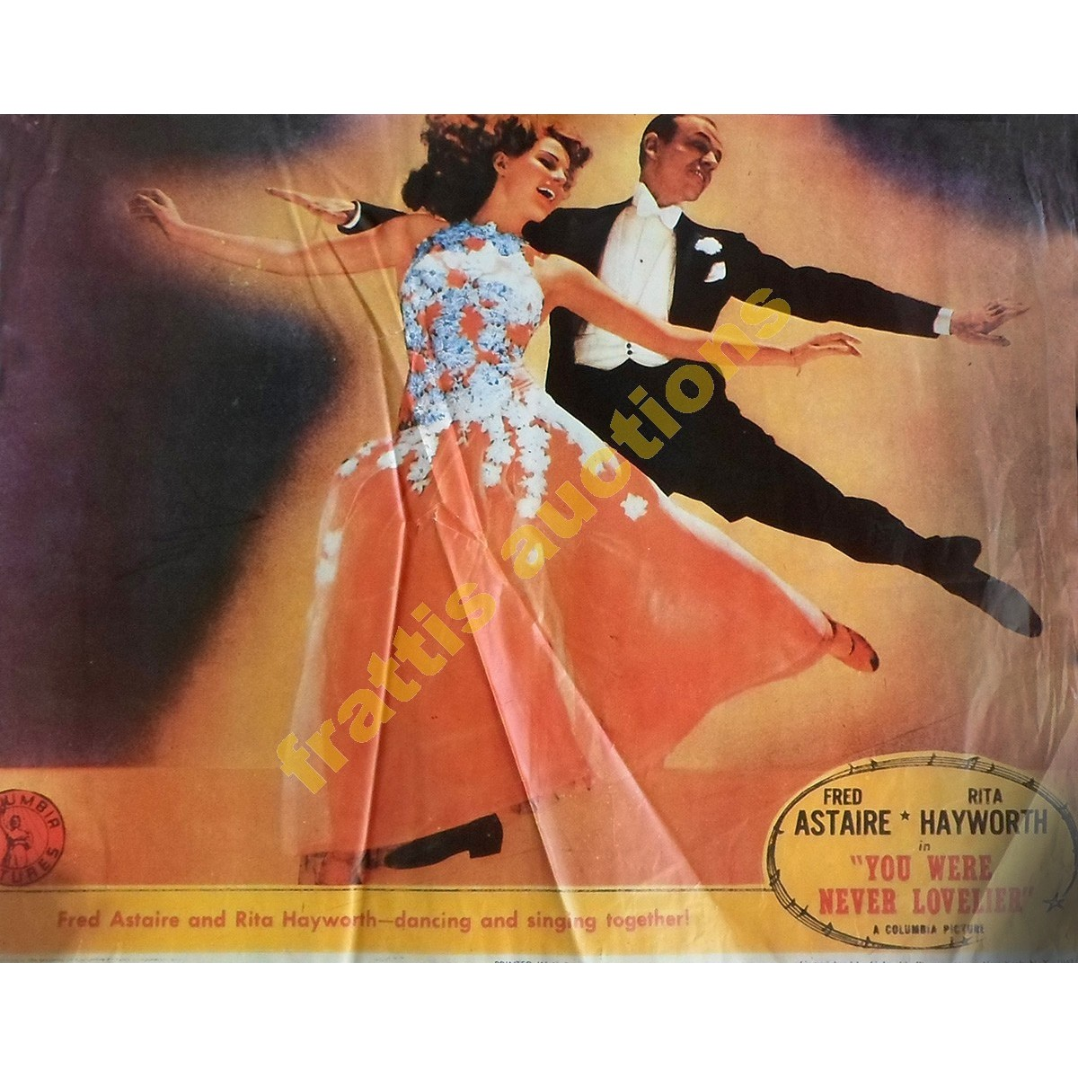 Fred Astaire and Rita Ηayworth, poster.