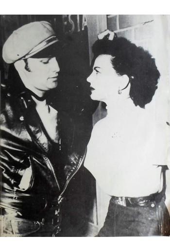 Marlon Brando and Yvonne...