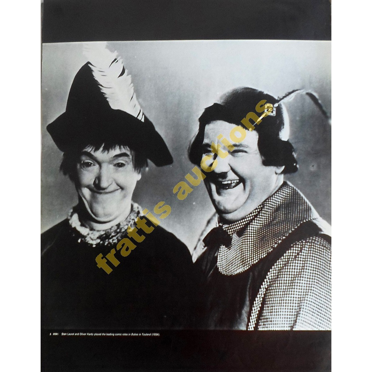 Stan Laurel and Oliver Hardy, poster.